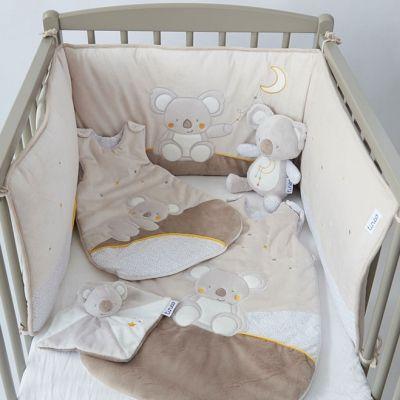 Tour de lit koala (pour lits 70 x 140 cm) : Tinéo