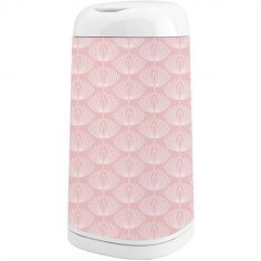Housse décorative poubelle Dress Up Fleurs rose