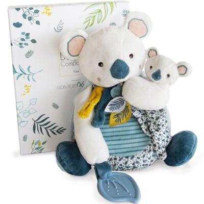 Coffret peluche d'activités Yoca le koala et son bébé (20 cm)  par Doudou et Compagnie