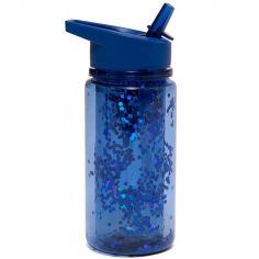 Gourde à paillettes bleu nuit (300 ml)