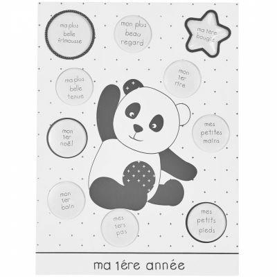 Pêle-mêle photos Ma première année panda Chao Chao