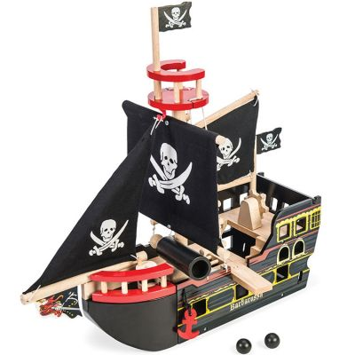 Bateau du pirate Barbarossa   par Le Toy Van
