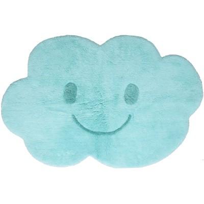 tapis lavable nimbus nuage bleu 75 x 115 cm nattiot. Black Bedroom Furniture Sets. Home Design Ideas