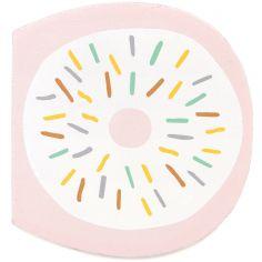 Lettre décorative D comme donut