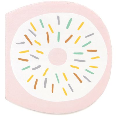 Lettre décorative D comme donut Petit Monkey