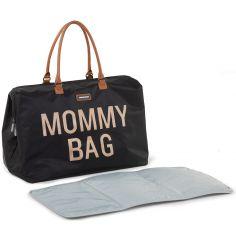 Sac à langer à anses Mommy bag noir