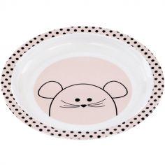 Assiette plate Little Chums souris