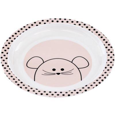 Assiette plate Little Chums souris  par Lässig