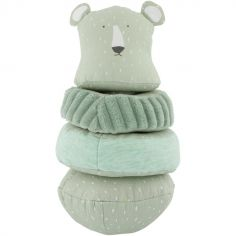 Pyramide en tissu culbuto ours Mr. Polar Bear