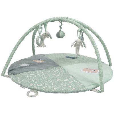 tapis d 39 veil avec arches lapin rond adventure mint 86 x 44 cm par little dutch. Black Bedroom Furniture Sets. Home Design Ideas