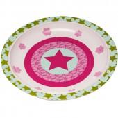 Assiette plate Starlight magenta - Lässig