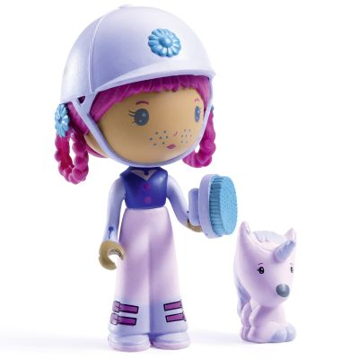 Figurine avec licorne Joe et Gala Tinyly  par Djeco
