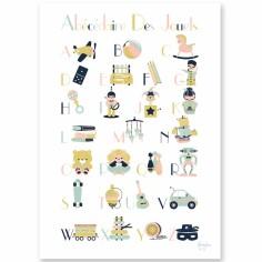 Affiche A4 abécédaire des jouets