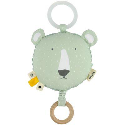 Coussin musical à suspendre ours Mr. Polar Bear  par Trixie