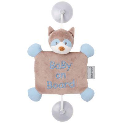Bébé à bord Bob le raton laveur  par Nattou