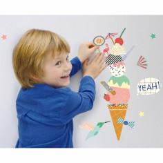 Sticker mural Ice dream
