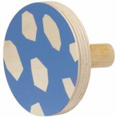 Patère en bois Blue