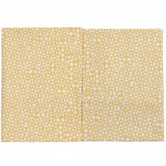 Drap + taie d'oreiller Diabolo pour berceau (75 x 100 cm)