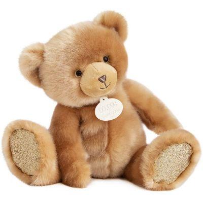 Peluche ours beige La Peluche (40 cm)  par Doudou et Compagnie