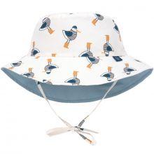 Chapeau anti-UV réversible M. Mouette bleu (9-12 mois)  par Lässig
