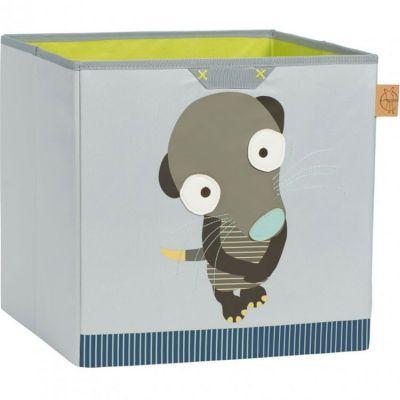 Bac de rangements jouets Wildlife suricate (33,5 x 32,5 cm)  par Lässig