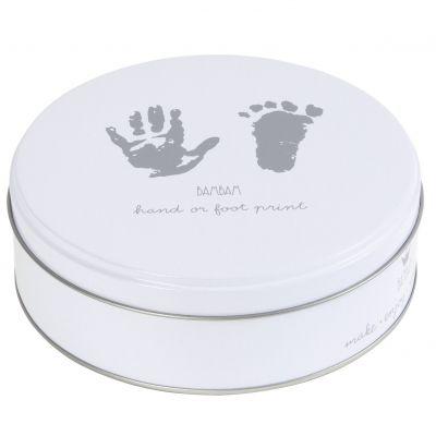 Boîte empreintes pieds et mains