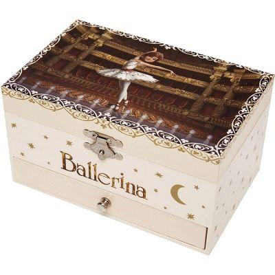 Boîte à bijoux musicale phosphorescente Ballerina  par Trousselier