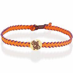 Bracelet cordon Primegioie Zodiaque Poisson (or jaune 375°)