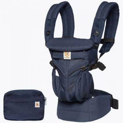 Porte bébé Omni 360 Cool Air Mesh bleu nuit Ergobaby
