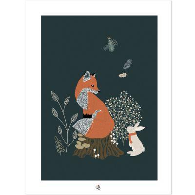 Affiche M.Fox renard (30 x 40 cm)  par Lilipinso
