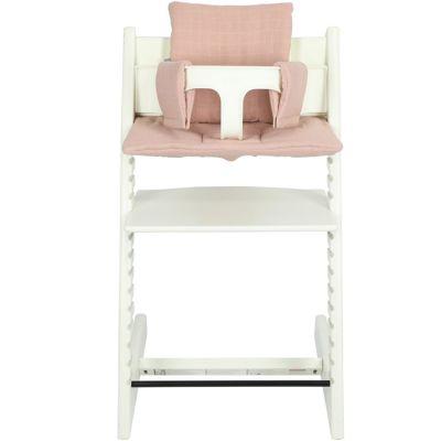 Coussin de chaise haute Tripp Trapp de Stokke Bliss rose  par Les Rêves d'Anaïs