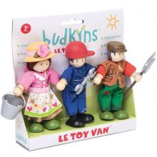 Lot de 3 figurines fermiers (9 cm)  par Le Toy Van