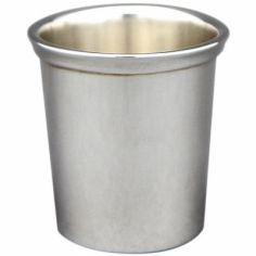 Coquetier chope Serti personnalisable (métal argenté)