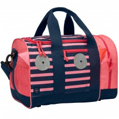 Sac de sport Little Monsters Mad Mabel corail