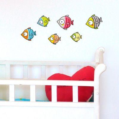 Stickers poissons bubulles  par Série-Golo