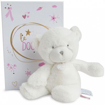 Peluche pantin ours rose Le Doudou (20 cm) Doudou et Compagnie