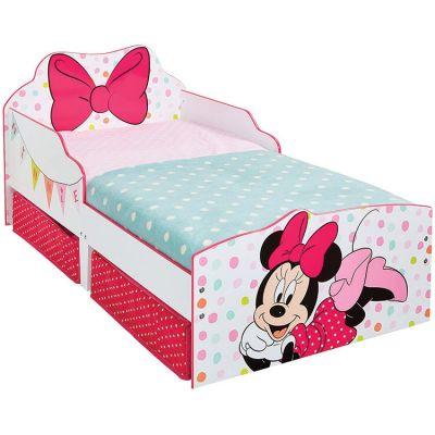 lit enfant disney minnie 70 x 140 cm par worlds apart. Black Bedroom Furniture Sets. Home Design Ideas