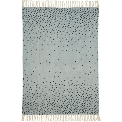 Tapis bleu (90 x 120 cm)  par Done by Deer