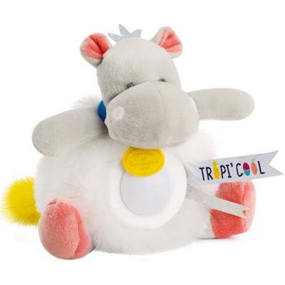 Doudou veilleuse hippopotame Tropi'cool  par Doudou et Compagnie