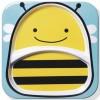 Assiette compartiment Zoo abeille - Skip Hop