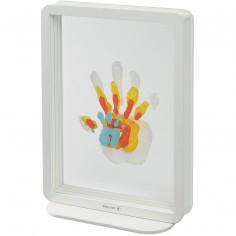 Cadre transparent 4 empreintes Family Touch