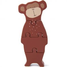 Puzzle vertical en bois singe Mr. Monkey