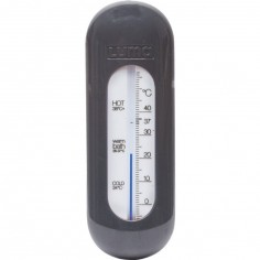 Thermomètre de bain gris foncé