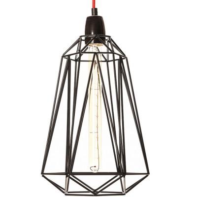 Lampe baladeuse Diamond 5 noire  par FilamentStyle