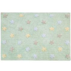 Tapis Estrellas menthe (120 x 160 cm)
