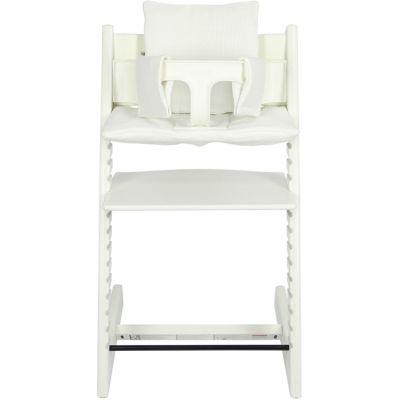 Coussin de chaise haute Tripp Trapp de Stokke Bliss blanc Les Rêves d'Anaïs