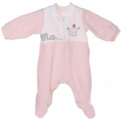 Pyjama chaud Princesse (1 mois)  par Nougatine