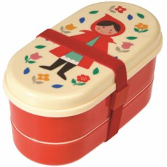 Lunch box ovale Le petit chaperon rouge