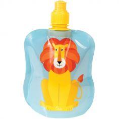 Gourde souple Charlie le lion (200 ml)