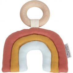 Hochet anneau Arc-en-ciel Pure & Nature